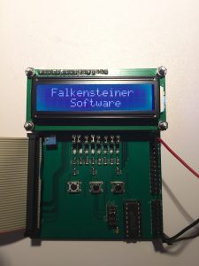 LCD-Display/ADC-Board