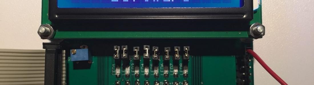 Display/ADC-Board für Raspberry Pi